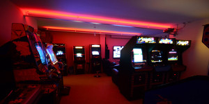 Retro Games Party Arcade Tour March 2013 - Classic Arcade Games from 1980's